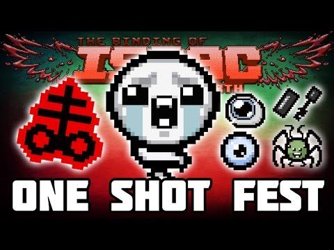 One Shot FEST - Custom Afterbirth Challenge