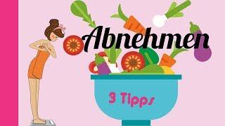 Abnehmen Ernährung 🍰 / Diät / 3 Tipps für starke Mädchen