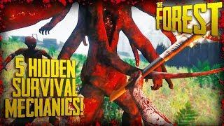 5 HIDDEN SURVIVAL MECHANICS! (v0.71) | The Forest