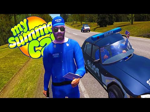 GOING TO JAIL!? Racking Up Fines and Jail Time - My Summer Car Gameplay Highlights Ep 66