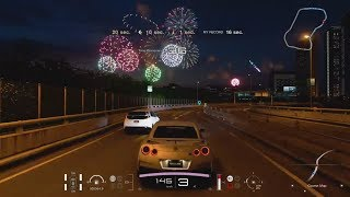 Gran Turismo Sport Demo - Tokyo Expressway Timed Rally Night Session (Gold Medal)