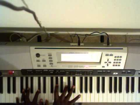 Smokie Norful~Dear Lord (Piano Tutorial Ab)