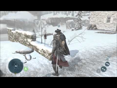 Listen to all of Washington's conversations - Frontiersman Challenge - Assassin's Creed 3