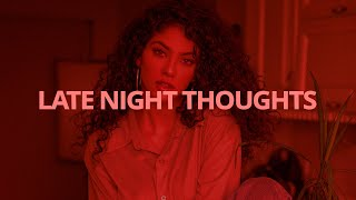 Ollie - Late Night Thoughts // Lyrics