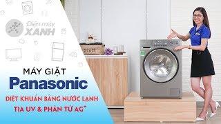 Máy giặt Panasonic Inverter 9 Kg: Diệt khuẩn khi giặt bằng nước lạnh (NA-129VX6LV2)