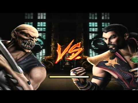 Mortal Kombat 9 - Baraka (Arcade Ladder) [Expert] No Matches/Rounds Lost