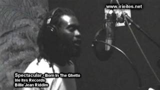 "SPECTACULAR ""BORN IN THE GHETTO""  IRIE ITES RECORDS"