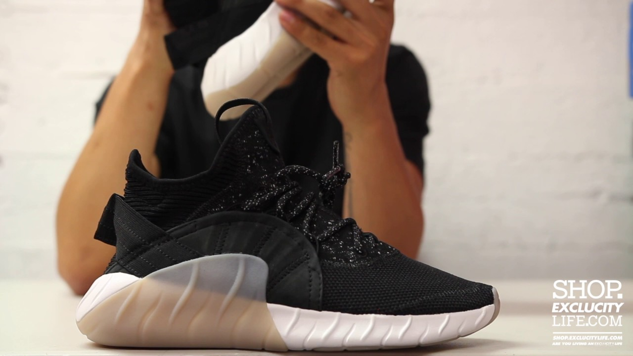 cheap for discount c3696 4a9c0 Adidas Tubular Rise Black - Gum Unboxing Video at Exclucity