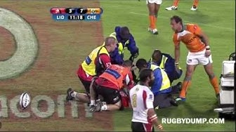 Super Rugby White Card for Andries Strauss