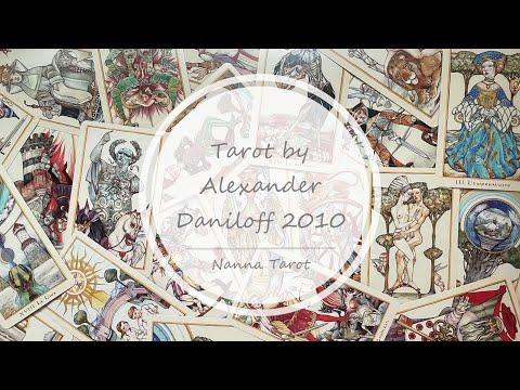 開箱  丹尼洛夫2010年紀念塔羅牌 • Tarot by Alexander Daniloff 2010 // Nanna Tarot