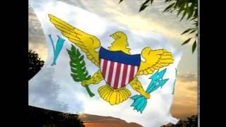 American Virgin Islands (USA) / Islas Vírgenes Americanas (EE.UU.) (Flag / Bandera)