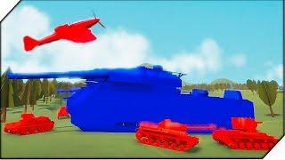 ОГРОМНЫЙ СУПЕР ТАНК - Игра Total Tank Simulator Demo 4