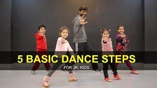 Dance Tutorial For 3 To 7 Years Kids   5 Basic Steps   Deepak Tulsyan   G M Dance