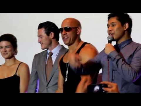EBLOG: FAST AND FURIOUS 6 CAST ROCKS MANILA FOR RED CARPET MOVIE PREMIERE Travel Video
