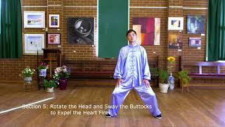Ba Duan Jin Qi Gong Front View With Instructions