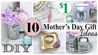 10 DOLLAR TREE DIY Mother's Day Gift Ideas! | $1 Easy Gifts