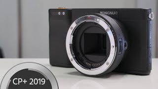 Yongnuo YN450 Android Camera Explained - Micro 4/3 and EF Mount