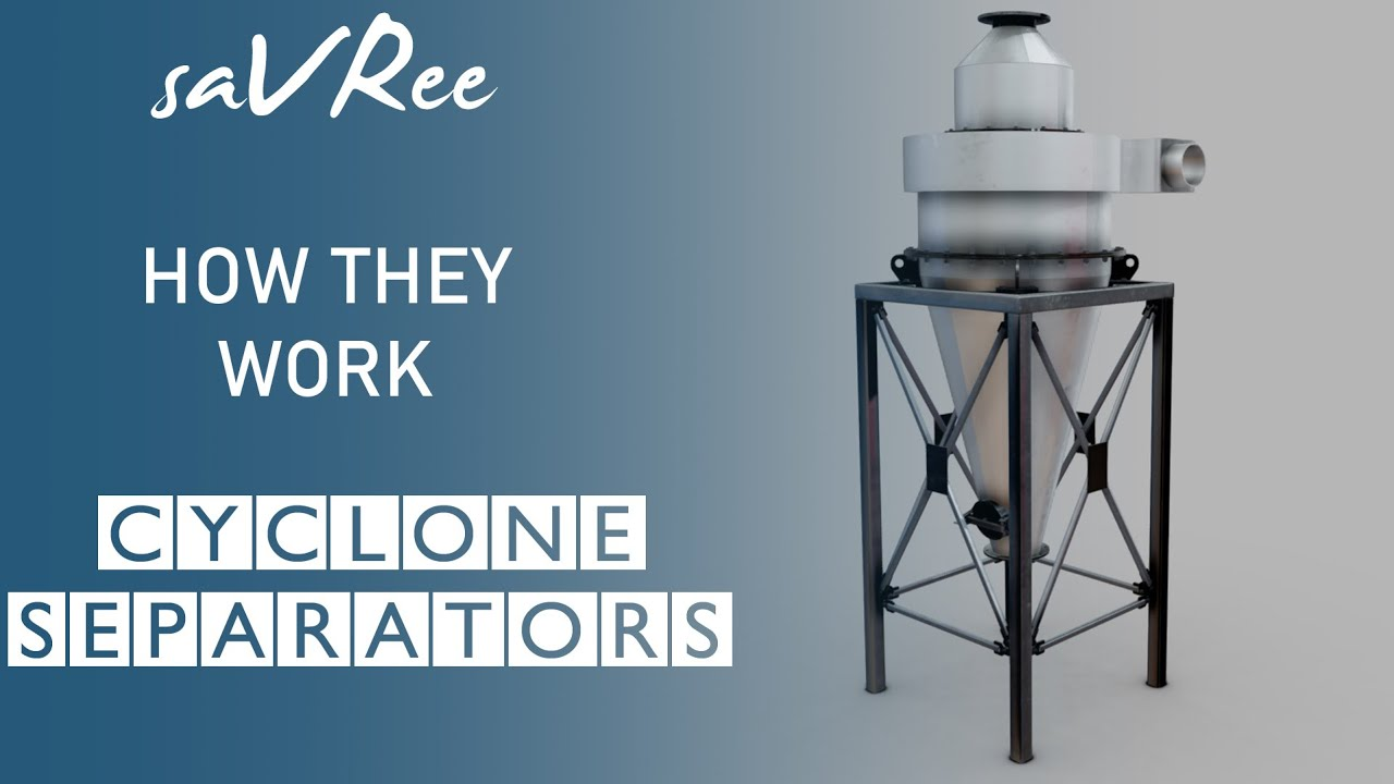 Cyclone Separator Design, Components and How it Works - saVRee
