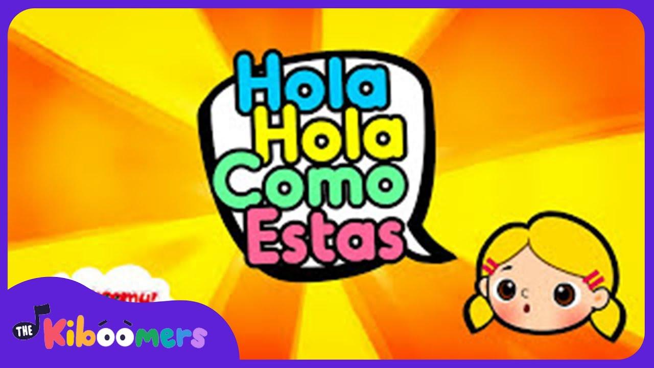 Hola hola c mo est s canciones para ni os infantiles for Cancion infantil hola jardin
