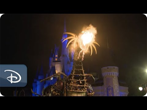Maleficent Returns to Disney's Festival of Fantasy Parade at Walt Disney World Resort