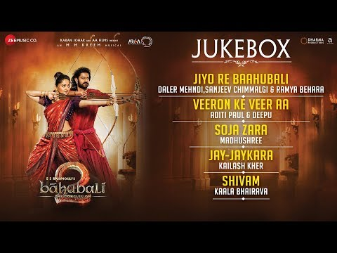 Thumbnail: Baahubali 2 The Conclusion - Full Movie Audio Jukebox | Prabhas & Anushka Shetty | M.M.Kreem | HINDI