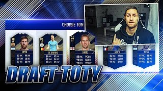 LA MEILLEURE DRAFT POSSIBLE SPECIALE TOTY !! FIFA 18 DRAFT CHALLENGE