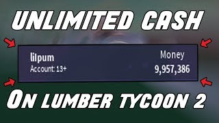 [PATCHED] ROBLOX LUMBER TYCOON MONEY HACK!! ✔️INFINITE MONEY! ✔️ WORKING!! [NOT CLICKBAIT]