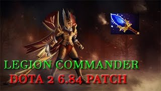 Dota 2 6.84 Patch - Legion Commander Agahnim