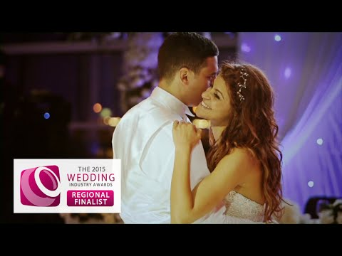 Wedding highlights film, East Wintergarden, Canary wharf, London wedding videographer