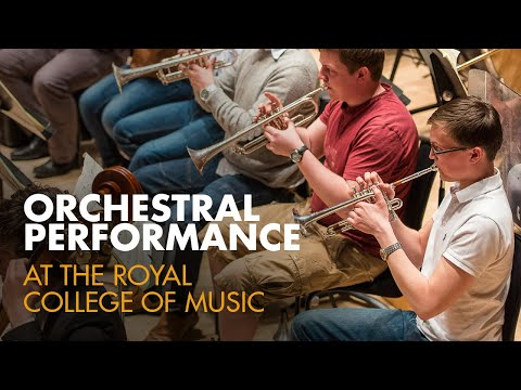 Orchestral Performance at the Royal College of Music