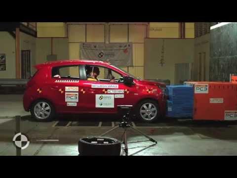 ASEAN NCAP - Mitsubishi Mirage