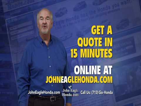 John Eagle Honda Quick Quote