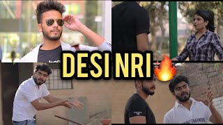 A DAY WITH DESI NRI | Elvish Yadav |