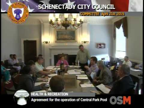 Schenectady City Council 2014 April 21st