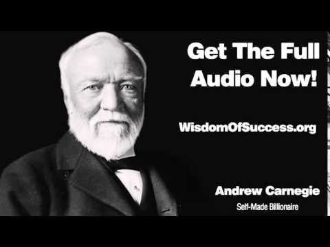 A Definite Purpose Through Controlled Thought Habits - Andrew Carnegie
