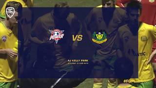 Fqpl rd17 highlights - peninsula power v rochedale rovers