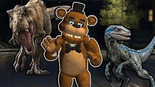 We Must Survive a Raptor Attack in the City in Gmod! - Garry's Mod Multiplayer Dinosaur Survival