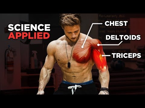 The Most Effective Science-Based PUSH Workout: Chest, Shoulders & Triceps (Science Applied Ep. 1)
