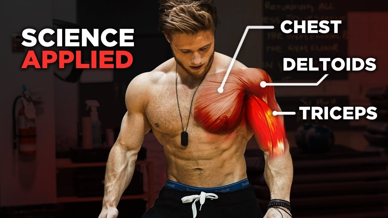 The Most Effective Science-Based PUSH Workout: Chest, Shoulders & Triceps  (Science Applied Ep  1)
