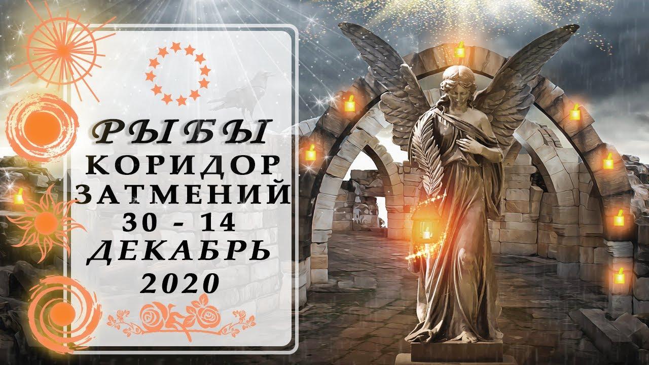 РЫБЫ СОБЫТИЯ КОРИДОР ЗАТМЕНИЙ♓ ДЕКАБРЬ 2020 таро прогноз