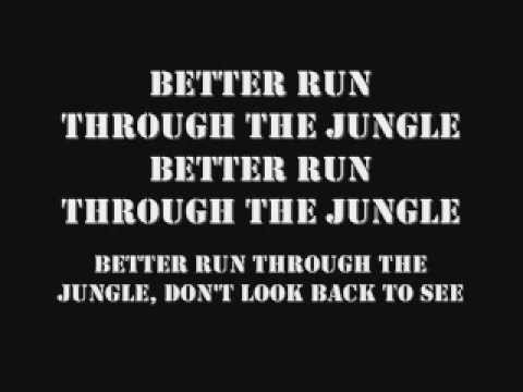CCR Run Through The Jungle w/ Lyrics