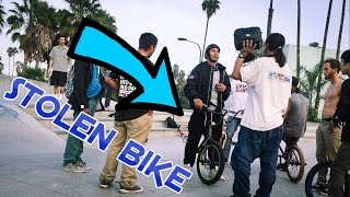 CONFRONTING A BIKE THIEF AT THE SKATEPARK