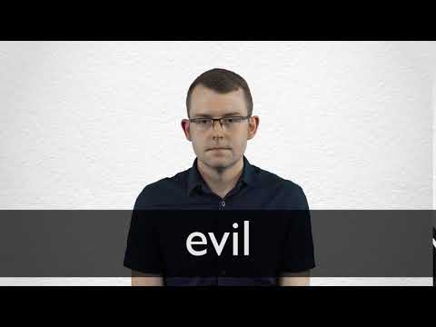 Evil definition and meaning | Collins English Dictionary