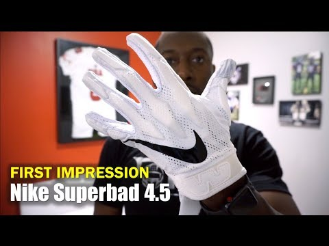 ea474525 NIKE Superbad 4.5 Football Gloves: First Impression - YouTube