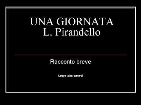 """Download """"Una Giornata""""  di Luigi Pirandello - racconto breve"""
