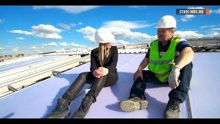 Стадион «Лужники»: новый газон и замена крыши