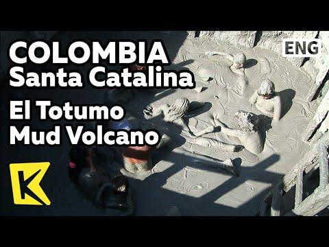 【K】Colombia Travel-Santa Catalina[콜롬비아 여행-산타카탈리나]엘 토투모 진흙 화산/El Totumo Mud Volcano/Crater/Massage