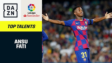 Ansu Fati: Top Talents | LaLiga | DAZN Highlights