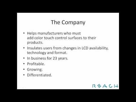 Reach Technology Embedded Software Developer - Engineer Job Posting