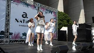 Chuning Candy『Happy Happy』@ a-nation 2019 大阪公演 Community Stage in ヤンマースタジアム長居 2019/08/17